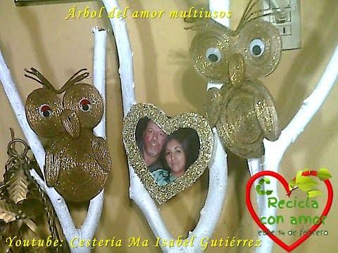 Árbol del amor multiusos. DIY Árbol del amor multiusos