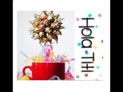 Cómo hacer un regalo con chocolates - Hola Titi DIY