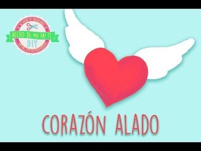DIY - Almohada Corazón Alado ❤️ (Regalo para San Valentín)