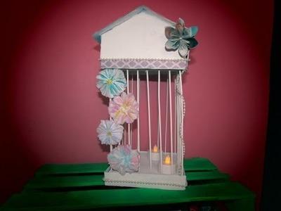 DIY - Como hacer una jaula vintage decorativa