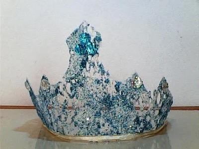 DIY corona de frozen