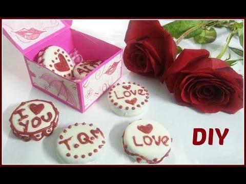 DIY | Galletas con mensaje para san Valentin | fácil y rápido