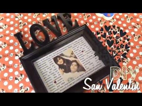 DIY♥ IDEA PARA REGALAR EN SAN VALENTIN♥ DIY 14 DE FEBRERO REGALO PARA ENAMORADOS