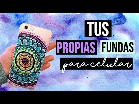 DIY: ¡HAZ TUS PROPIAS FUNDAS PARA EL CELULAR CON 2 INGREDIENTES!