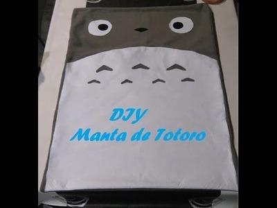DIY Manta de Totoro