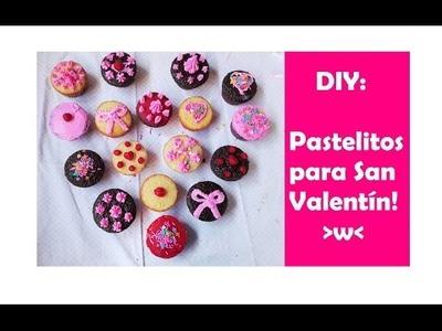 DIY: Mini pastelitos para San Valentín + SORPRESA DE CUMPLEAÑOS A MI MAMI