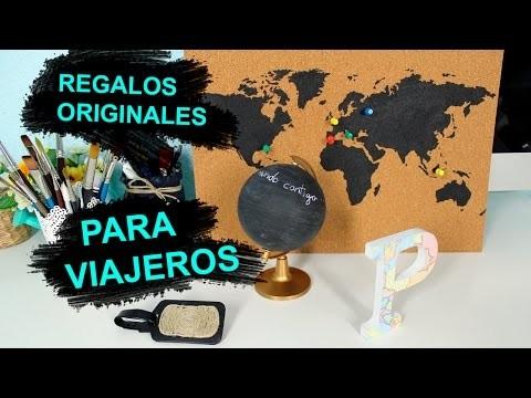 DIY Regalos Originales para Viajeros