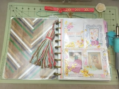 DIY: Shaker Dashboard for the Happy Planner!!