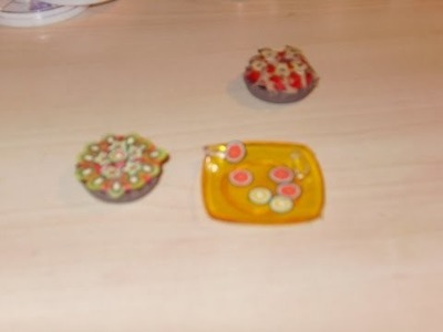 Miniatura DIY Pinzas de cocina