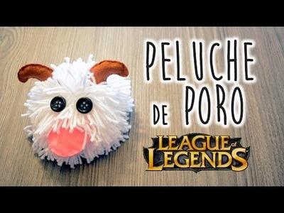 Peluche de Poro - League of Legends - DIY