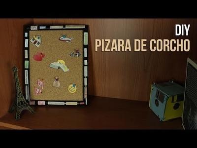 Pizarra de corcho DIY |  PROPÓSITOS DE AÑO NUEVO