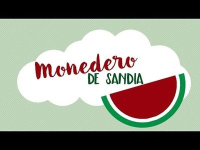 ★ Tutorial DIY - Monedero de Sandia ★