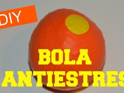 Bolas Antiestrés con GLOBOS  *DIY Antiestrés