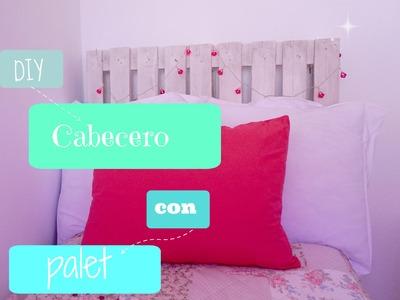 DIY#3 Cabecero con palet