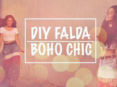 DIY Falda Boho Chic - Renueva tu ropa