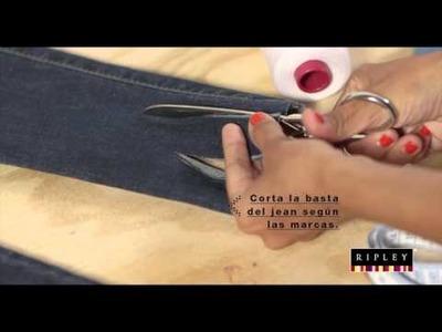 DIY: Jeans con flecos