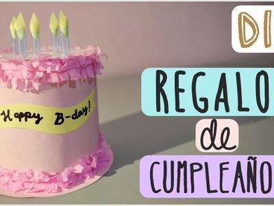 DIY Regalo de Cumpleaños