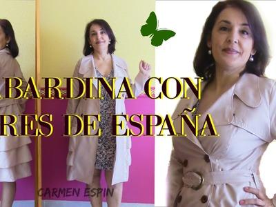 GABARDINA CON AIRE ESPAÑOL:DIY