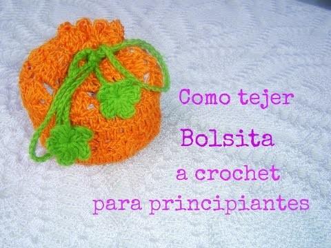 Como hacer Bolsa a  crochet Fácil paso a paso DIY