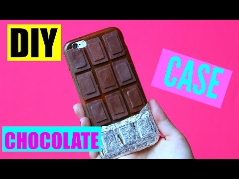 DIY case chocolate