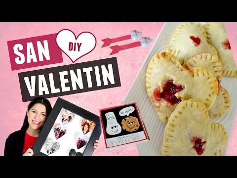 DIY. Ideas para San Valentin. Regalos para mi novio y amigas | Karen Rios