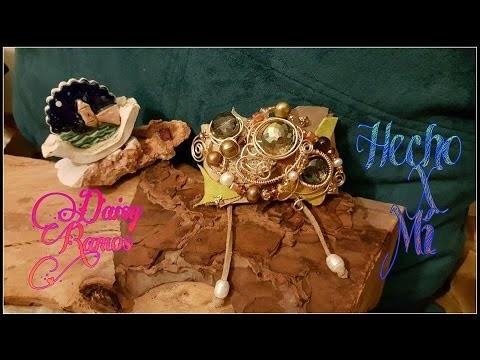 Pulsera en Cuero y Alambrismo DIY, Wire Wrapped Bracelet