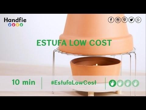 Cómo hacer una estufa casera low cost · Handfie DIY