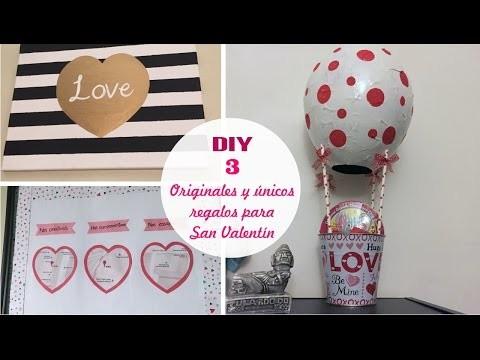 [DIY] 3 Regalos fáciles y originales para San Valentín