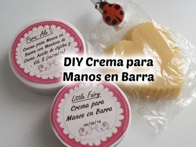DIY Crema para Manos en Barra - Idea Regalo San Valentín