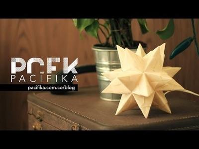 DIY Lámpara estrella polar | PCFK Pacifika