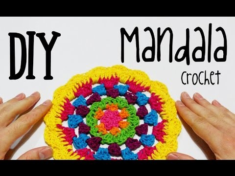 DIY Mandala crochet (tutorial)