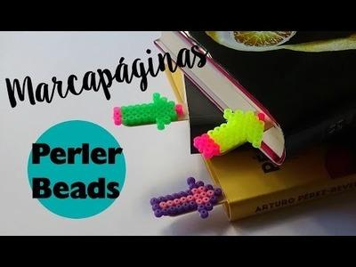 DIY. Marcapaginas con Perler Beads