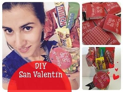 DIY Regalos de San Valentín muy fáciles de hacer