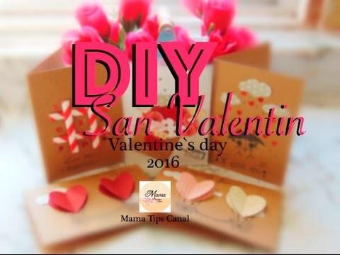 DIY Tarjetas de San Valentin 2016. valentine's day Cards