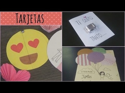 DIY Tarjetas para San Valentín 3 Ideas Fáciles