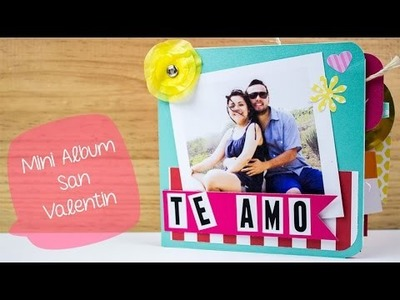 Mini Album SAN VALENTIN DIY. BigCrafts