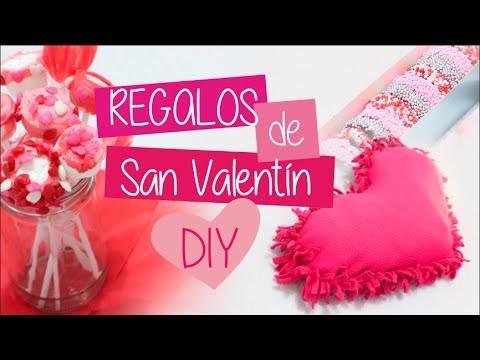 ♥♥♥Regalos Preciosos y Fáciles para San Valentín DIY ♥♥♥ | Clase Rosa
