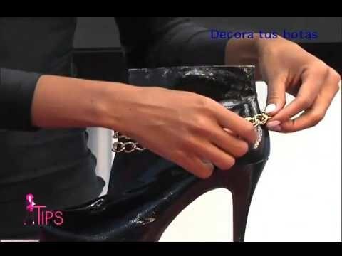 Decora tus botas fácil y sencillo  DIY TipsTV 9-1-16 parte 3