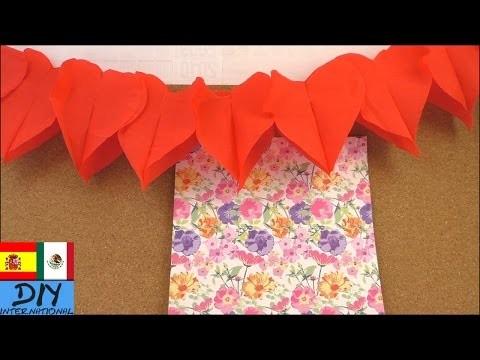 Decoración pata fiesta de San Valentín DIY