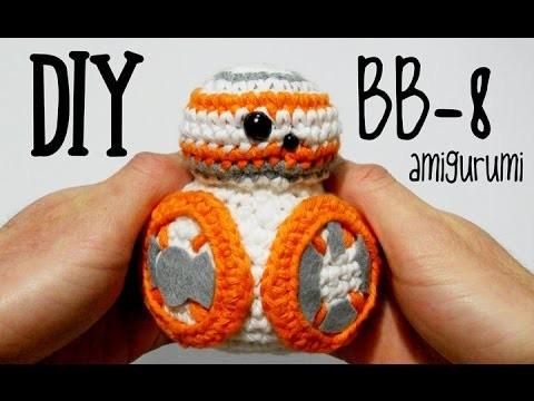 DIY BB-8 Star Wars amigurumi crochet (tutorial)