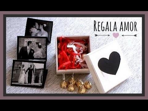 DIY ♥ Caja del AMOR ||| Mini album + chocolates - Adrii GA