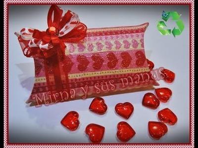 Diy  Cajita para regalo Mirna y sus manus. Diy. Gift Box. Mirna y sus manus