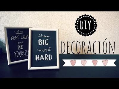 DIY Ideas para Decorar :)