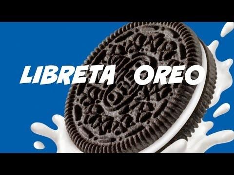 DIY Libreta Oreo