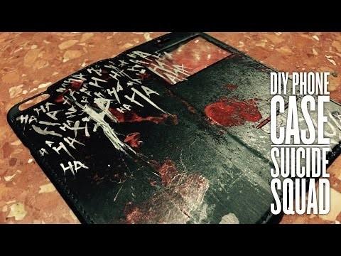 DIY Phone Case. SUICIDE SQUAD EDITION. Fundas para tu cecular