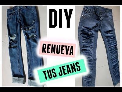 DIY: Renueva tus jeans