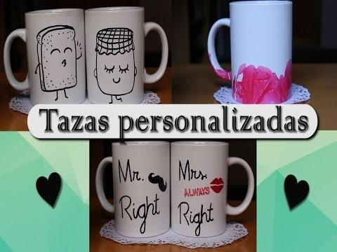 DIY Tazas Personalizadas | Raquel Ballesta ♥