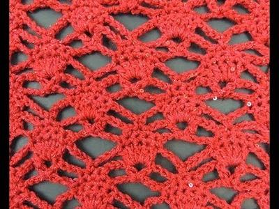 Crochet: Punto Piña # 1