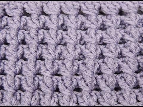 Crochet: Punto Relieve en Circulo # 3