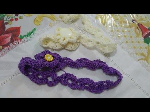 Diadema o vincha a crochet (corregida)